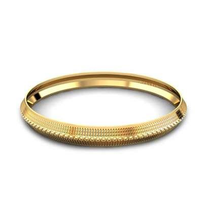 07908ed2a6b 60+ Gold Kada Designs | Buy Gold Kada for Men Online | Candere by ...